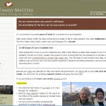 Elder Family Matters home page