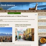 Up Close South America website home page